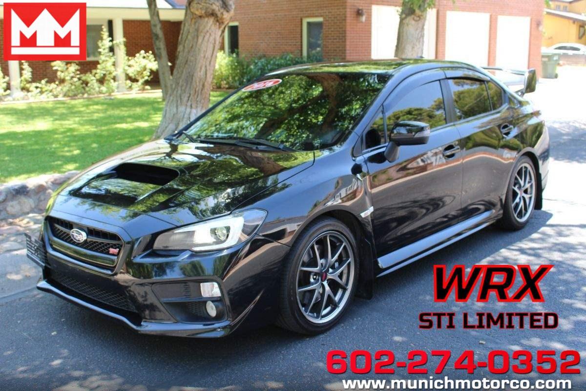 2016 Subaru WRX STI Phoenix AZ
