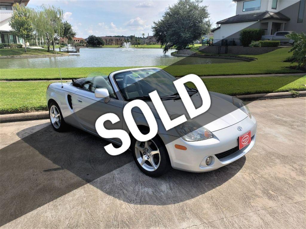 2003 Toyota MR2 Spyder Houston TX