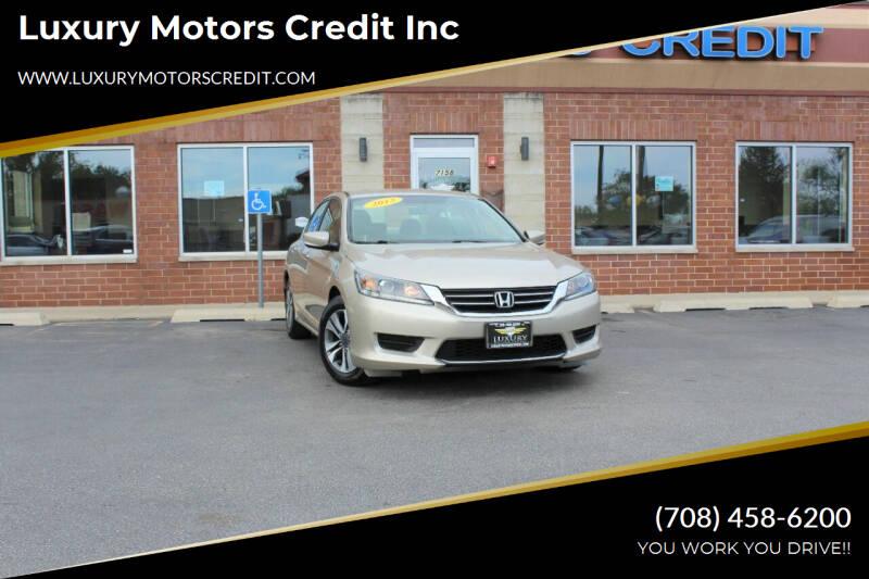 2013 Honda Accord Bridgeview IL
