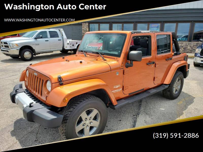 2011 Jeep Wrangler Unlimited Washington IA