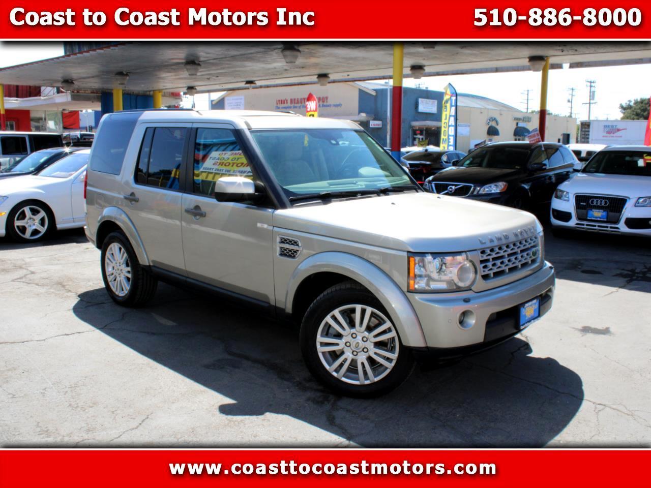 2010 Land Rover LR4 Hayward CA